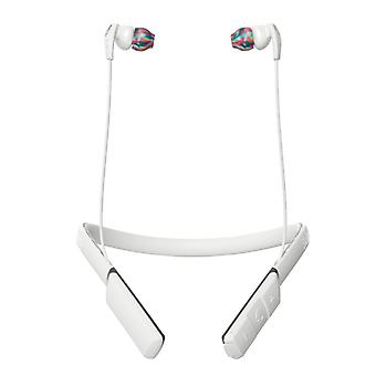 SKULLCANDY Headphone Method White/Swirl In-Ear Wireless Mic