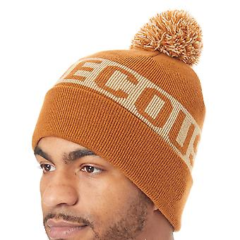DC Leather Brown Chester Beanie