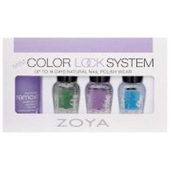 Kit de manucure Zoya Mini Color Lock System