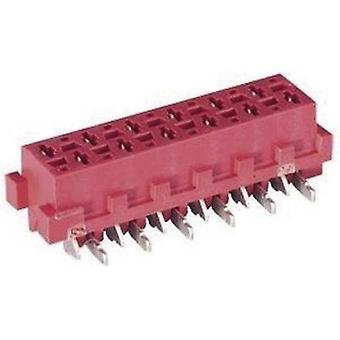 TE Connectivity Socket enclosure - PCB Micro-MaTch Total number of pins 4 Contact spacing: 1.27 mm 7-188275-4 1 pc(s)