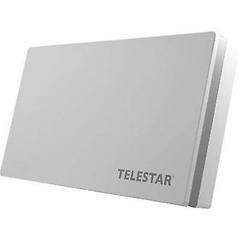 Telestar Digiflat 1 Flachantenne SAT Antenne hellgrau
