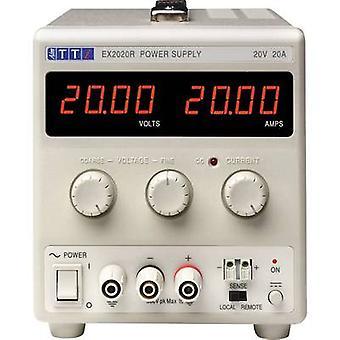Aim TTi EX2020R Bench PSU (adjustable voltage) 0 - 20 Vdc 0 - 20 A 400 W No. of outputs 1 x