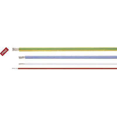 Helukabel 51344 Heat-resistant cable HELUTHERM 145 1 x 2.50 mm² Yellow Sold by the metre