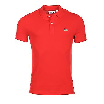 Short sleeves polo Red L1212 Lacoste Man
