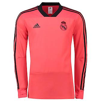 2018-2019 Real Madrid Adidas UCL Training Top (Red)
