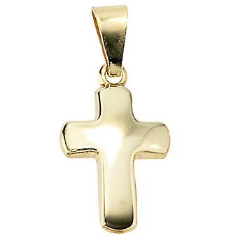 Kreuz Anhänger Kreuz gold 333 LUZIE für Kreuzkette Kette