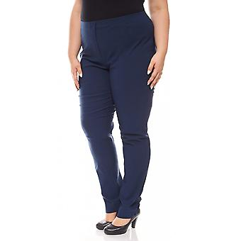 sheego Bengalin stretch trousers large size for Navy