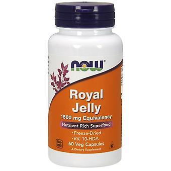 Now Foods Royal Jelly 1500 mg Equivalency 60 Capsules