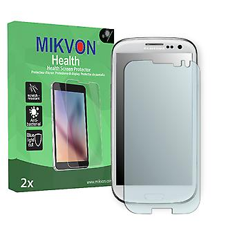 Samsung Galaxy S3 Screen Protector - Mikvon Health (Retail Package with accessories) (intentionally smaller than the display due to its curved surface)