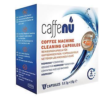 Caffenu Reinigingscapsule Koffiezetapparaat 5 Stuks