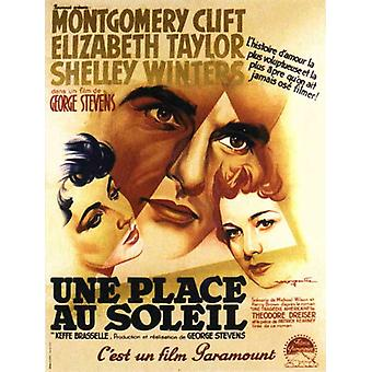 A Place in the Sun Movie Poster (11 x 17)