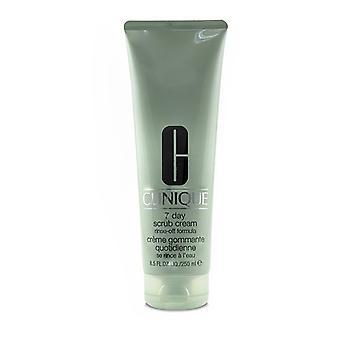 Clinique 7 Day Scrub Cream Rinse Off Formula - 250ml/8.5oz