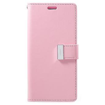 Mercury GOOSPERY Rich Diary till Samsung Galaxy S9 Plus - Rosa