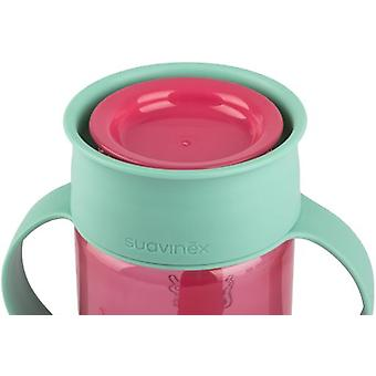 Suavinex 360 Booo Pink Tumbler (Childhood , Mealtime , Children's Tableware)