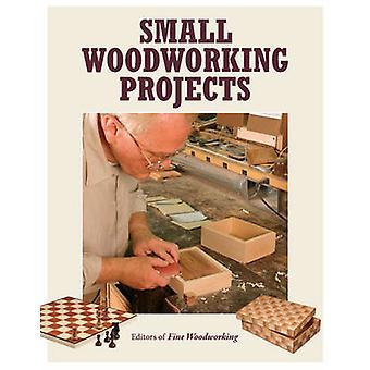 Projets de petite menuiserie Fine par - bois--livre 9781631861314