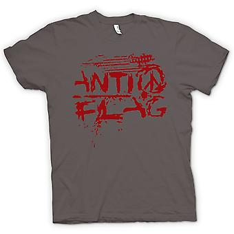 Kvinner t-skjorte-Anti - flagg - U.S. - Punk Rock-Band - Anarchy