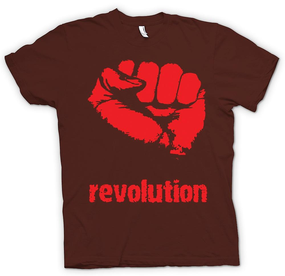 Mens T-shirt - Revolution - Anarchy
