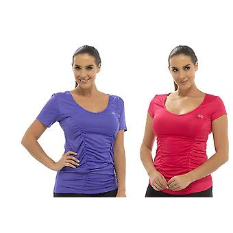2Pk Ladies Tom Franks Sport Gym Top beach holiday Fashion Vest Sportswear