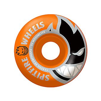 Spitfire Orange-Yellow Bighead Mashup 99 - 52mm Skateboard Wheels