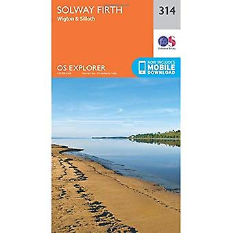 OS Explorer Map (314) Solway Firth, Wigton and Silloth