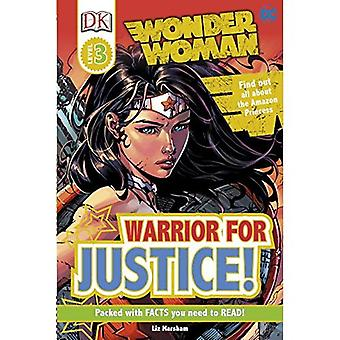 DC Wonder Woman Warrior for Justice! (DK Readers Level 3)
