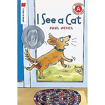 Ik zie een kat (ik graag Read(r))