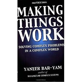 Maken dingen werk: Oplossen van complexe problemen In een complexe wereld