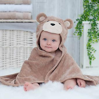 Toffee Teddy baby towel gift set