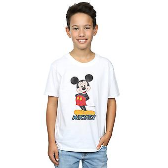 Disney Boys Mickey Mouse Retro Pose T-Shirt