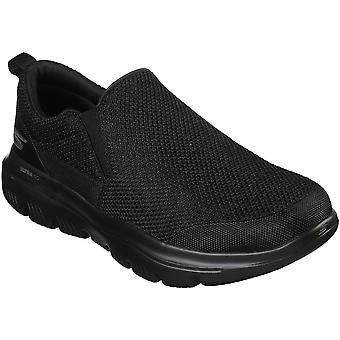 Skechers Mens Ultra Go Twin Gore Lightweight Slip On Shoes