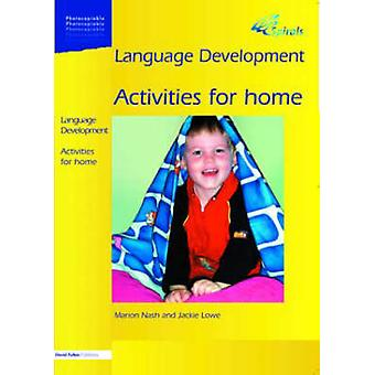 Language Development 1a Maths Activities for Home by Nash & Marion