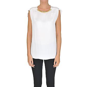 Michael Kors White Cotton Top