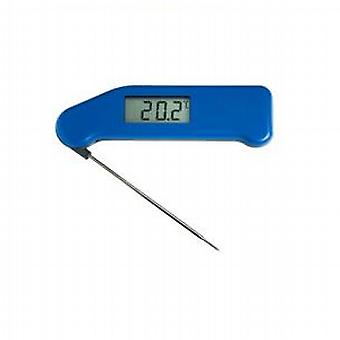 Superschnelle Thermapen Thermometer blau