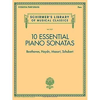 Schirmer's Library Of Musical Classics Vol. 2137 - 10 Essential Piano