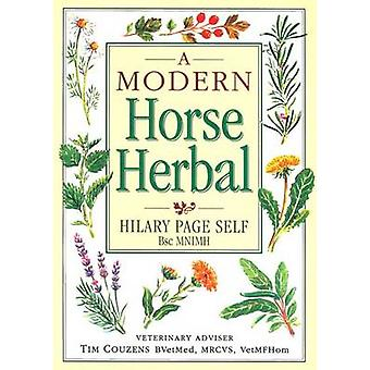 A Modern Horse Herbal by Hilary Page Self - 9781872119816 Book