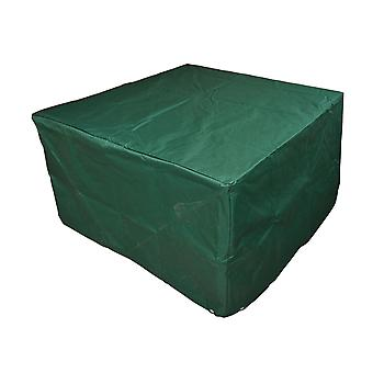 Outsunny UV Rain Protective Rattan Furniture Cover Cube Design Cover for Wicker Rattan Garden 135x135x75cm