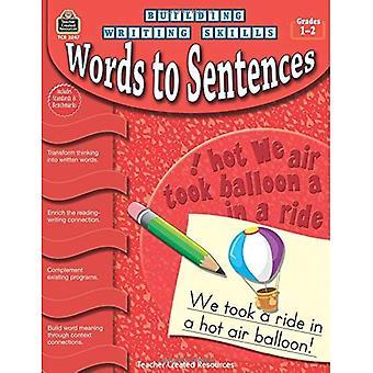 Woorden om zinnen, cijfers 1-2