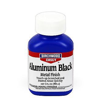 بيرتشوود كايسي الألمنيوم الأسود 3 أوقية السائل-سبائك الألومنيوم التشطيب