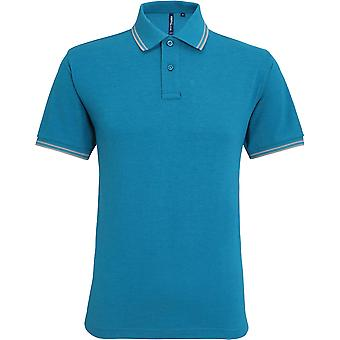Asquith & Fox - Men's Classic Fit Tipped Polo Shirt