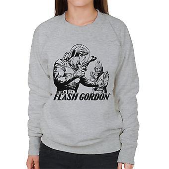 Flash Gordon Ming Face Off Frauen's Sweatshirt