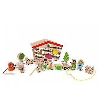 Legler Farm To Thread (Babies and Children , Toys , Educative And Creative)