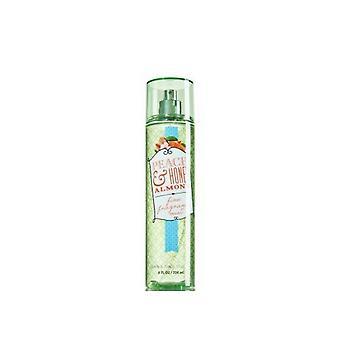 Bath & Body Works Peach & Honey Almond Fine Fragrance Mist 8 fl oz / 236 ml