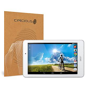 Celicious Vivid Invisible Glossy HD Screen Protector Film Compatible with Acer Iconia Tab 8 A1-840FHD [Pack of 2]