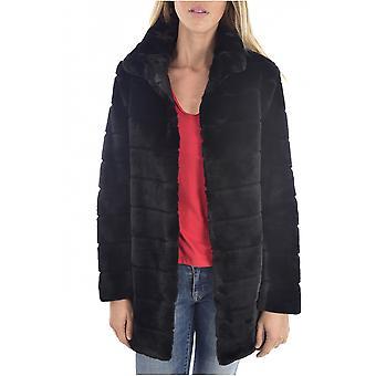 False Fur Jacket W94l56 Wc4j0 - Guess Jeans