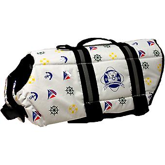 Paws Aboard Doggy Life Jacket XXS-Nautical Dog XXS1100-N1100