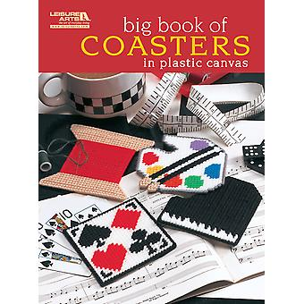 Leisure Arts Big Book Of Coasters In Plastic Canvas La 5855