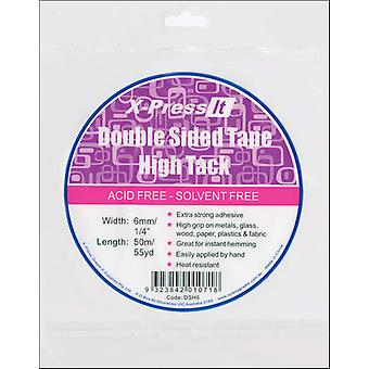 X Press It High Tack Double Sided Tissue Tape 1 4