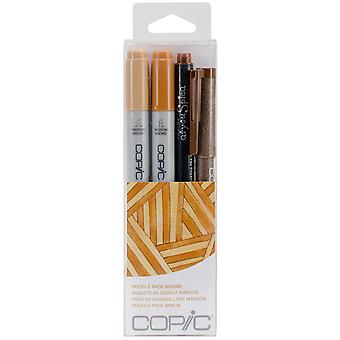 Copic Doodle Pack Brown Dpbrn