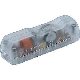 Pull dimmer + strain relief Transparent Switching capacity (min.) 40 W Switching capacity (max.) 160 W interBär 8015-0