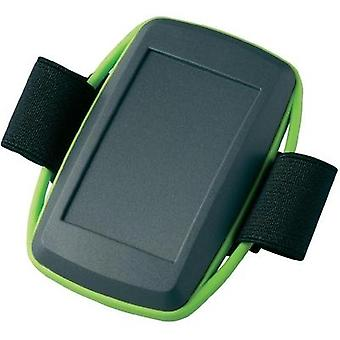 OKW D9106178, Plastic Handheld Device Enclosure, IP40, Lava, Green, 78 x 48 x 20 mm